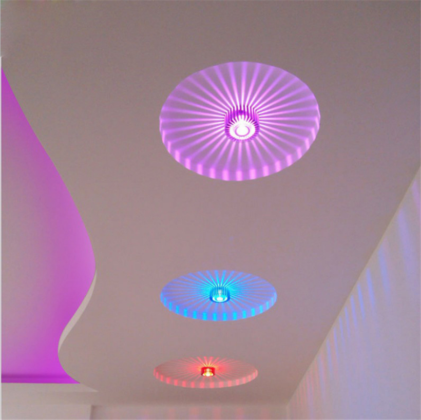 LED Crystal Aisle Celling Light (10)