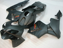 100% fit for Honda injection mold fairings CBR600RR 03 04 matte black motorcycle fairing kit CBR 600RR 2003 2004 LY33