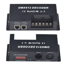 30A DC12-24V 3channel*10A output; RGB single dmx decoder& driver constant voltage decoder,led strip,module,lamp controller