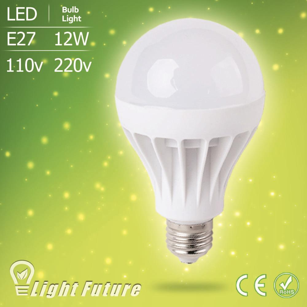 Top quality 12W E27 110V 220V Lampada Led Lamp SMD 5730 Led Light Bulb Cold Warm White Led Spotlight Bombillas Ampoule Lamparas(China)