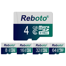Reboto Customized Memory card Micro SD card 4GB 8GB TF card For Gift Pen drive flash card for Smartphone(China)