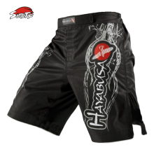 SUOTF MMA black white breathable Fitness Exercise shorts Tiger Muay Thai boxing shorts kickboxing short mma pretorian muaythai