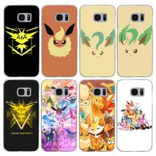 G219 Pokemons Go Transparent Hard PC Case Cover For Samsung Galaxy S 3 4 5 6 7 8 Mini Edge Plus Note 3 4 5 8(China)