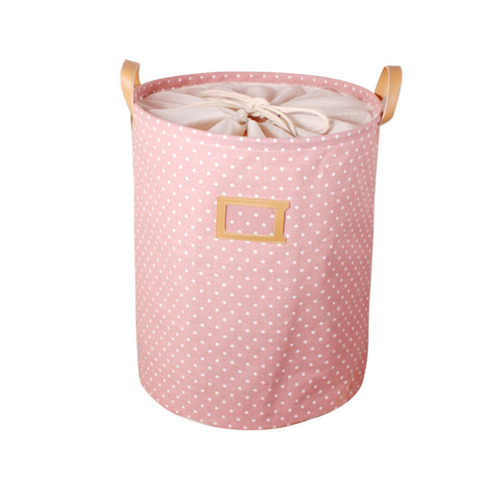 011 MICCK Storage Basket Dirty Clothes Sundries Waterproof Laundry Basket Organizers Washing Clothes Toy Linen Folding Storage Box