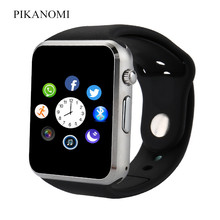 New Bluetooth Smart Watch A1 Wrist Watch With Sim Card Memory Card Solt Support WhatAPP Facebook Twitter For Android Smart Phone(China)