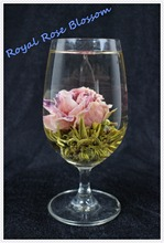 New Arrival! 12pcs of the new models of Royal rose tea, flower tea balls, Chinese blooming art tea