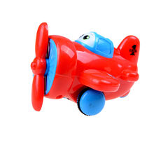 Mini kids air force Aircraft models airplane miniatures fighter toys collectible for baby boys Hot Sale Random color(China)
