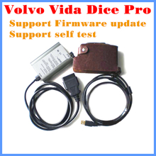 Diagnostic Tool Volvo Vida Dice Pro not only J2534 but also Volvo Protocol Support Firware update and self test Free Shipping