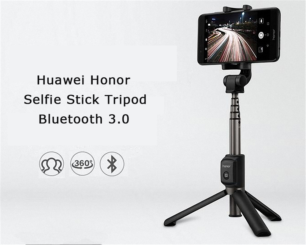 image for Original Huawei Honor Bluetooth Selfie Stick Tripod Wireless Monopod E