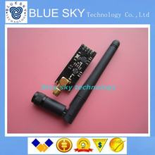 1pcs/lot Special promotions 1100-meter long-distance NRF24L01+PA+LNA wireless modules (with antenna)