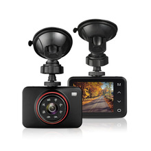 Samrt Dash Car DVR Hidden Full HD 1080P 2.7 Inch TFT Car 170 Degree G-sensor Monitor Touch button Camera Video Recorder(China)