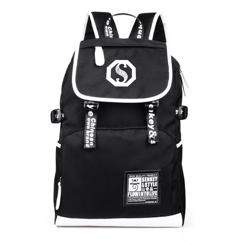New Arrival Fashion Feminine Bagpack Shoulder Back School Bags For Teenage boys Graffiti Backpack Mochila Escolar Backpack<br>