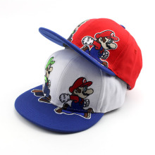 New Fashion Unisex Cartoon Super Mario Kids Baseball Cap Adjustable Snapback Caps Children Hip Hop Hat