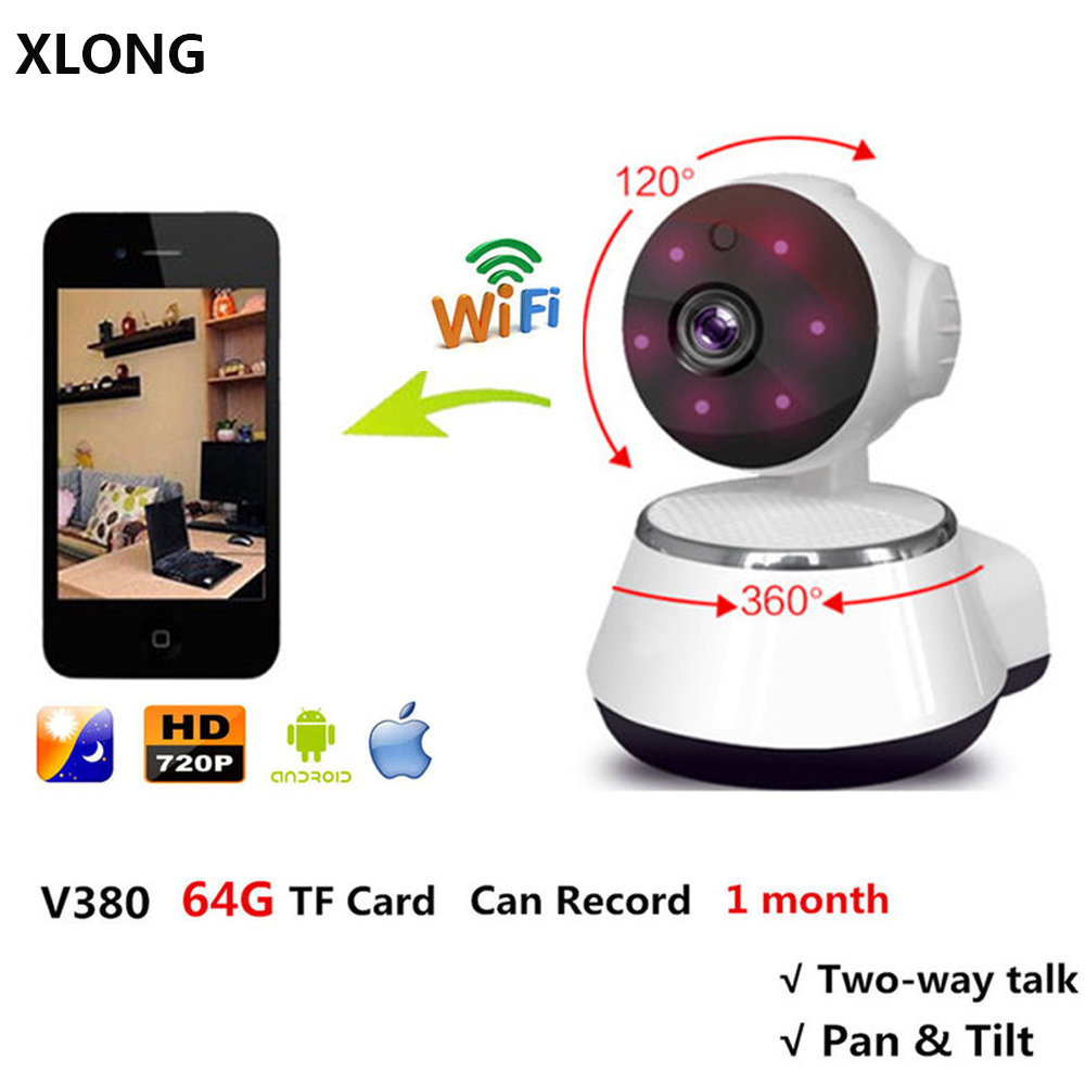 HD Camera Wireless WiFi IP Camera Baby Monitor Home Security Surveillance 720P Night Vision CCTV Security Camera baba eletronica<br>