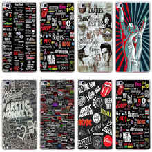 145GG Many Rock Music Bands 2 Hard Transparent Cover for Huawei P7 P8 P8 P9 P10 Lite y5 ii Honor 4C 5C 6 7 8 & Nova(China)
