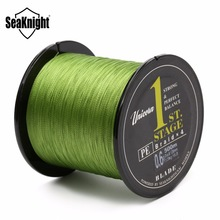 SeaKnight 500m PE Braided Fishing Line 4 Strands Multifilament Carp Sea Fishing Rope Wire Linha Pesca 8lb 10lb 20lb 40lb 60lb