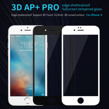 For iPhone 6 6S 3D Touch Tempered Glass Original Nillkin AP+ Pro Anti Scratch Oleophobic Coating Shatterproof Full Screen Film