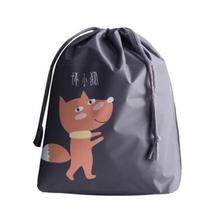 Cartoon Drawstring Travel Innerwear Toy Bunches Small Bags Waterproof travel bag Fashion home storage bag A20(China)