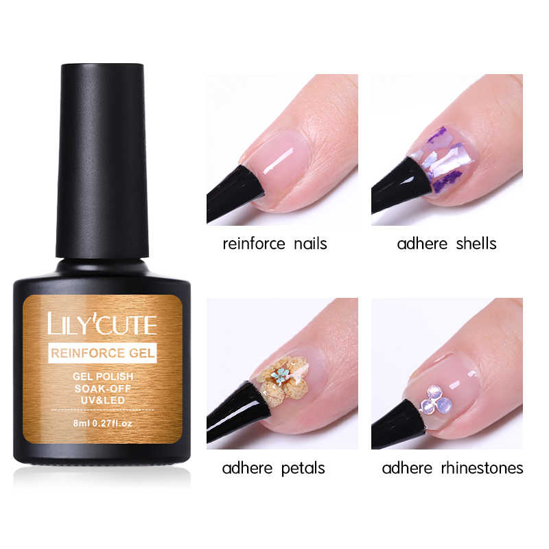 Detail Feedback Questions about LILYCUTE Nail Strengthener Hardener ...