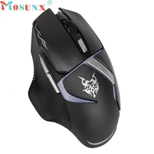 mosunx Best Mecall Tech 6 Buttons Wireless Gaming Mouse Mice For PC Laptop factory price wholesale