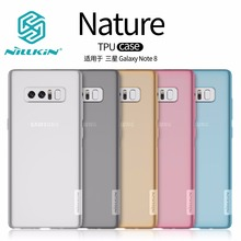 NILLKIN Nature Case for Samsung Galaxy Note 8 Note8 TPU Transparent soft back cover case Luxury brand with retailed package