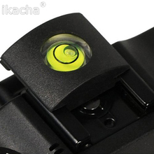 Camera Bubble Spirit + Hot Shoe Protector Cover Level Camera Accessories Universal DSLR For Canon For Nikon high quality(China)