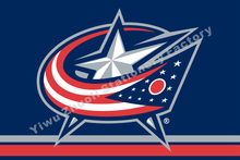 Columbus Blue Jackets Flag NHL National Hockey League 3ft X 5ft Polyester Banner Flying 150* 90cm Custom Flag Sport Helmet CBJ3