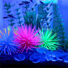 New Arrival Silicone Aquarium Fish Tank Artificial Coral Plant Underwater Ornament Decor Wholesale Free Shipping 30RI28(China)