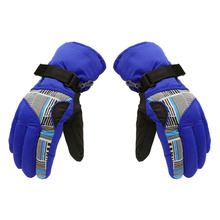 Winter Snow Outdoor Sports Waterproof Thickening Climbing Mountain Skiing Gloves Man Riding Cycling Glove Top Sale(China)