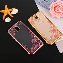 Buy Glitter Bling Diamond Girly Flower Phone case Meizu M6 Note M5C M5S M3S M3 M5 Note Pro 6 7 U10 U20 MX6 Soft TPU Back Cover for $1.23 in AliExpress store