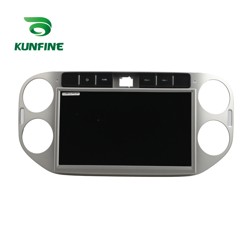 10.1 inch Car Stereo DVD Player GPS Navigation  for Tiguan 2013-2014 Radio Silver Color