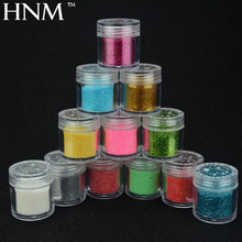 HNM 1pcs Nail Glitter Powder Sticker Nail Art Decoration Dip Powder Gem Polishing Nails Diy Acrylic UV Glitter Acrylic Powder