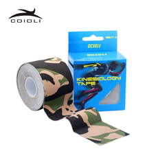 6Rolls New Elasti Cotton Roll Adhesive Kinesio Tape Sports Injury Muscle Strain Protection Tapes First Aid Bandage Suppoort(China)