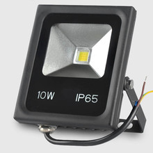 led Floodlight 10W Spotlight DC 12v 24v AC 110v 220v Exterior lighting bouw lamp Searchlight light waterproof Landscape Lighting(China)