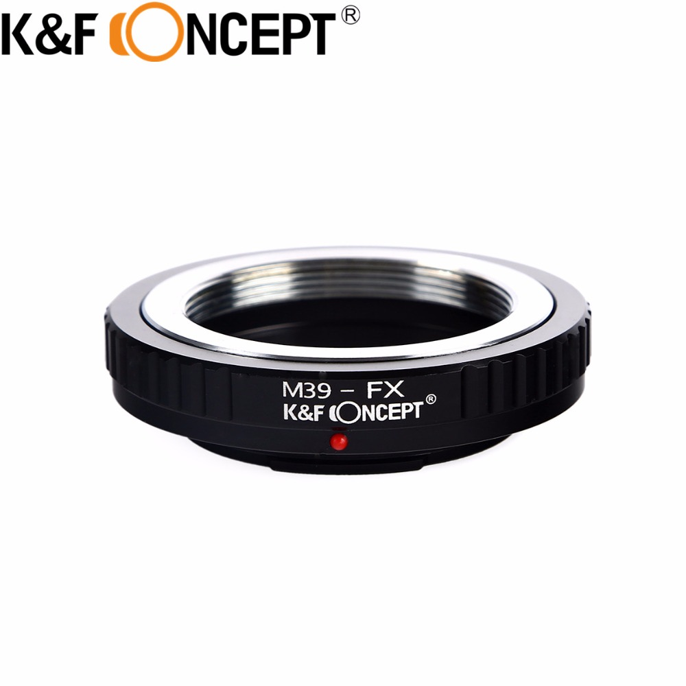Lens Mount Adapter Ring For M39 for Leica Screw Lens to Fuji X-Pro1/X-E1/X-M1 Camera M39-FX(China)