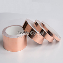 5~25 mm*30M copper foil tape for Electromagnetic shielding phone computer transformers