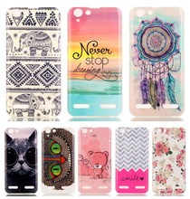 DEEVOLPO Soft Beautiful Pattern Thin Case For Lenovo K5 Mobile  Slim Rubber silicone Bags Cover Cases For Lenovo K5 Plus DP01