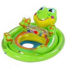 Animal Shape Swimming Rings Kid Swimming Seat Ring Inflatable Aid Trainer Children Float Water For Kids 3-5 Years Old(China)