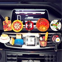 IT IS MY CAR air freshener outlet cartoon food Creative perfume lovely cool styling IT IS EXPENSIVE