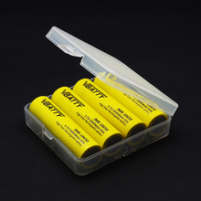 10 pcs/lot Hard Plastic Battery Case Holder Storage Box Battery Container 18650 Battery Case High Top Quality(China)