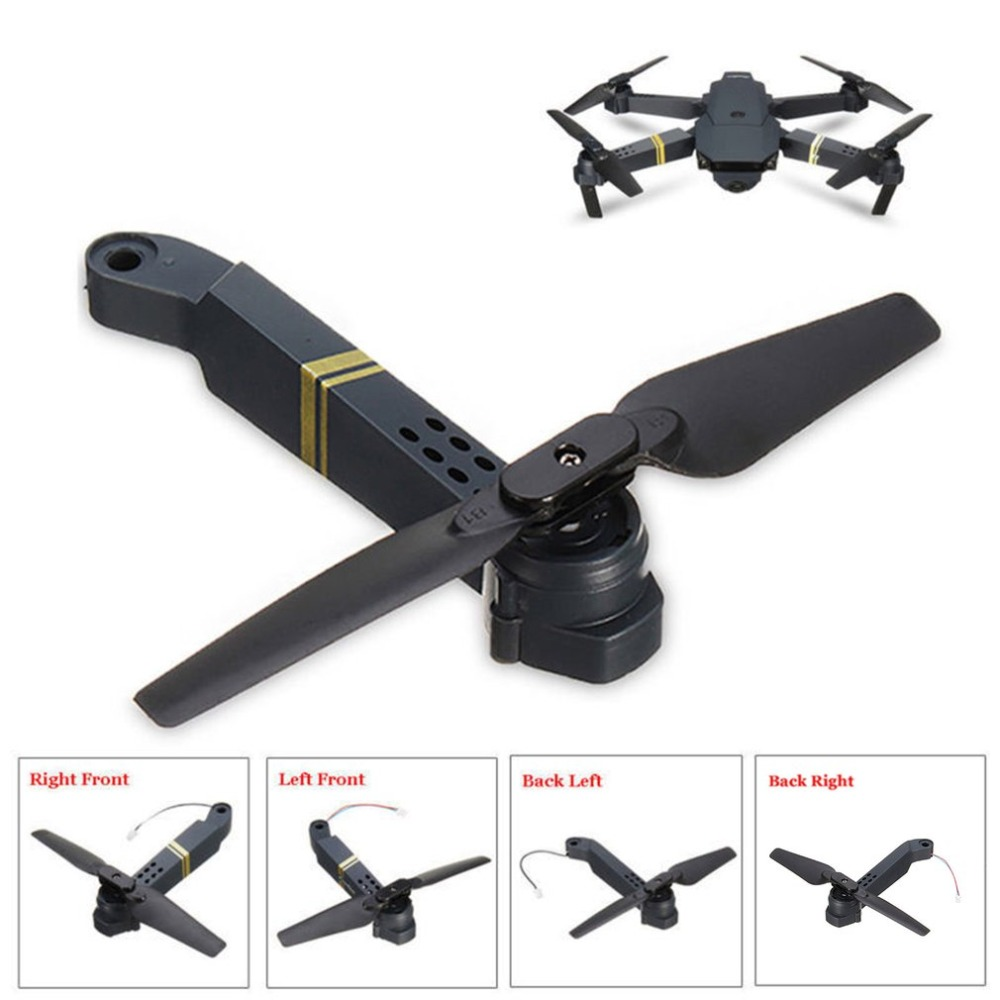 Professional Easy To Install E58 WIFI FPV RC Quadcopter Axis Arm Spare Parts with Motor & Propeller Supplies(China)