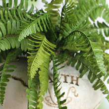 New Hight Quality Fishtail Pine Fern Fake Plant Artificial Leaves Home Party Office Decor Decoration