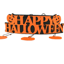 High Quality Design HAPPY HALLOWEEN Pumpkin Hanging Strips Handmade Funny Style Chic Special(China)