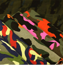 Width 1.4m*length 1m,97% cottpn+3% Spandex.Camouflage fabric military training clothing clothes pants cloth DIY Dress 186