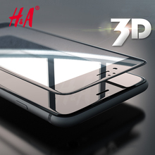 Buy H&A 3D Soft Edge Full Cover Tempered Glass iPhone 7 7 Plus Screen Protector Tempered glass iphone 6 6S Protective Film for $1.31 in AliExpress store