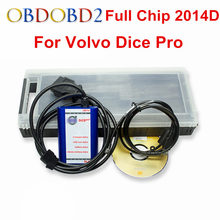 Green PCB Board For Volvo Vida Dice 2014D Full Chip Auto Car Diagnostic Tool For Volvo Dice Pro Vida Dice OBD2 Scanner