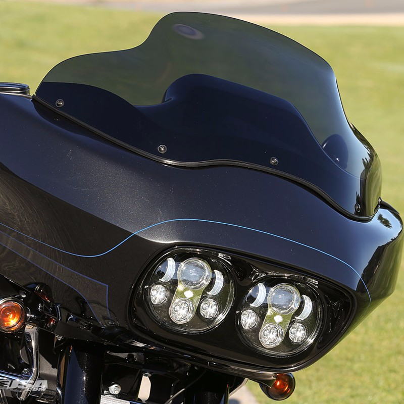 FADUIES-Daymaker-Projector-Dual-LED-Headlight-For-Harley-Davidson-Road-Glide-2004-2013-Led-Headlamp-Black