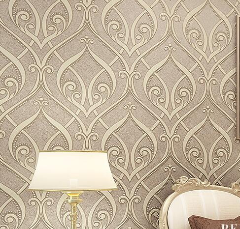 damask wallpaper<br>
