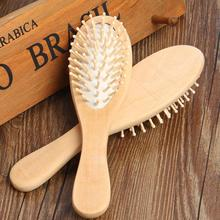 1Pc Wooden Bamboo Hair Massage Brush Scalp Brushes Hair Care and Beauty SPA Massager Comb Y1-5