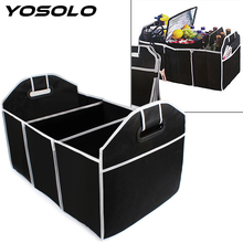 YOSOLO Car Trunk Organizer Car Toys Food Storage Container Bags Box Car-Styling Auto Interior Accessories Supplies Gear Products(China)